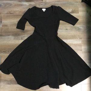 Lularoe black dress